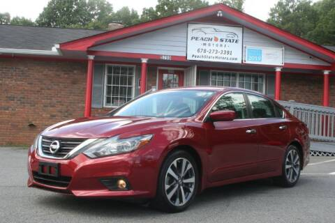 2017 Nissan Altima for sale at Peach State Motors Inc in Acworth GA