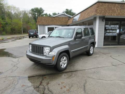 2012 Jeep Liberty for sale at Millbrook Auto Sales in Duxbury MA