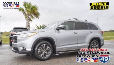 2016 Toyota Highlander for sale at Courtesy Value Pre-Owned I-49 in Lafayette LA