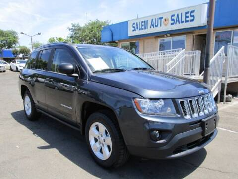 2014 Jeep Compass for sale at Salem Auto Sales in Sacramento CA