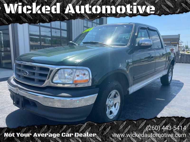 2001 Ford F-150 for sale at Wicked Automotive in Fort Wayne IN