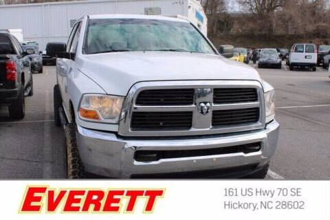 2012 RAM Ram Pickup 2500 for sale at Everett Chevrolet Buick GMC in Hickory NC