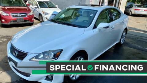 2011 Lexus IS 250 for sale at ELITE MOTORS in West Haven CT