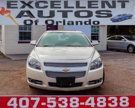 2012 Chevrolet Malibu for sale at Excellent Autos of Orlando in Orlando FL