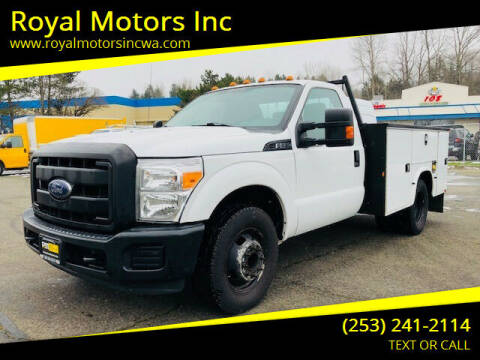 2014 Ford F-350 Super Duty for sale at Royal Motors Inc in Kent WA