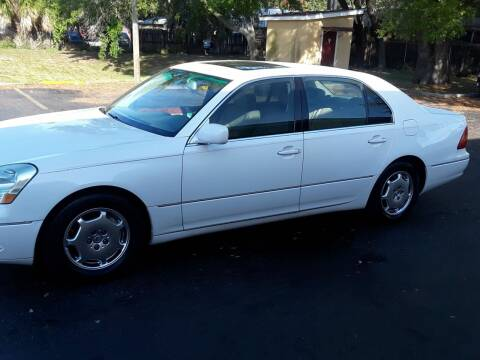 2002 Lexus LS 430 for sale at AUTO IMAGE PLUS in Tampa FL