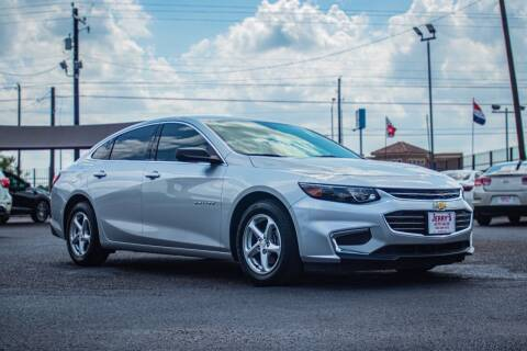 2018 Chevrolet Malibu for sale at Jerrys Auto Sales in San Benito TX