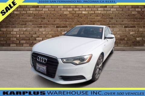 2013 Audi A6 for sale at Karplus Warehouse in Pacoima CA