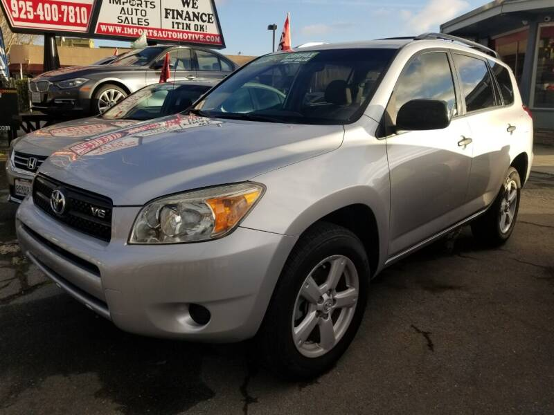 2008 Toyota RAV4 for sale at Imports Auto Sales & Service in San Leandro CA
