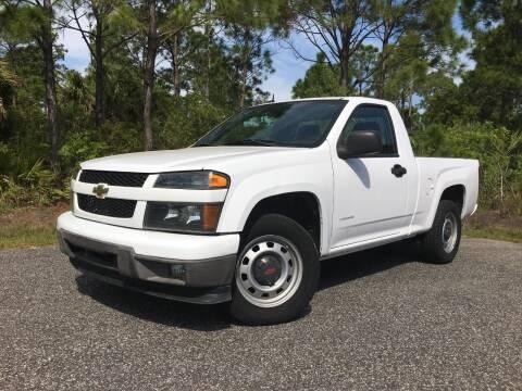 2012 Chevrolet Colorado for sale at VICTORY LANE AUTO SALES in Port Richey FL