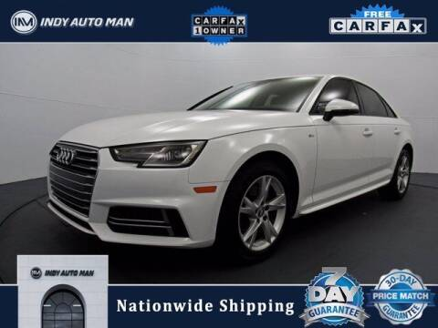 2018 Audi A4 for sale at INDY AUTO MAN in Indianapolis IN