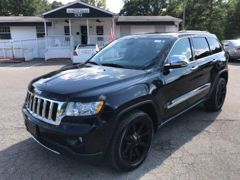 2012 Jeep Grand Cherokee for sale at CVC AUTO SALES in Durham NC