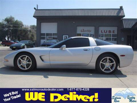 1999 Chevrolet Corvette for sale at QUALITY MOTORS in Salmon ID