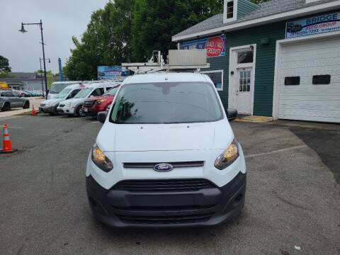 2016 Ford Transit Connect Cargo for sale at Bridge Auto Group Corp in Salem MA