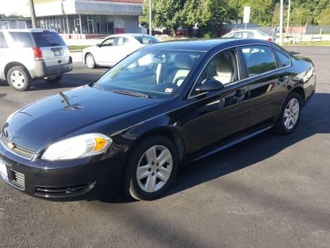 2011 Chevrolet Impala for sale at Premier Auto Sales Inc. in Newport News VA