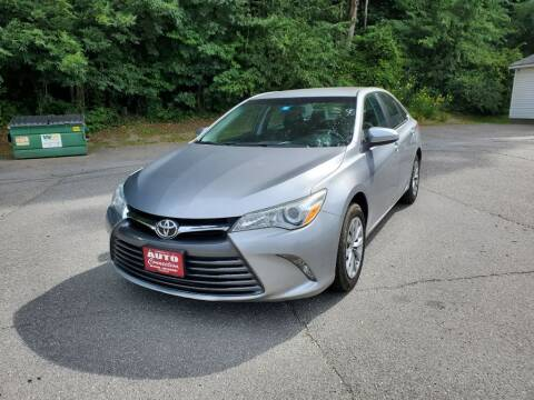 2015 Toyota Camry for sale at AUTO CONNECTION LLC in Springfield VT