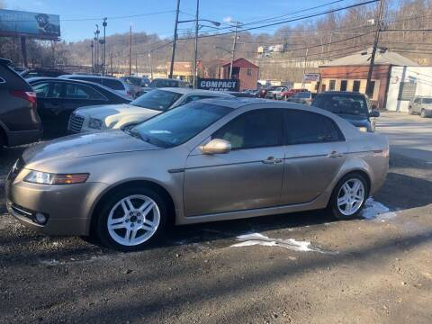 2007 Acura TL for sale at Compact Cars of Pittsburgh in Pittsburgh PA