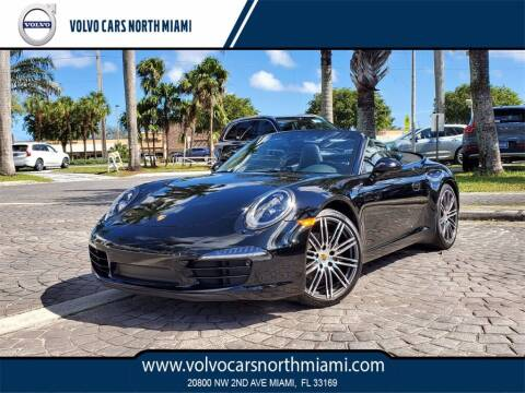 2016 Porsche 911 for sale at Volvo Cars North Miami in Miami FL