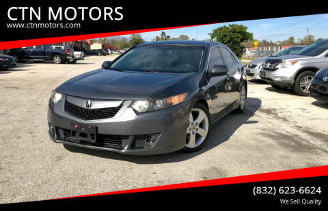 2010 Acura TSX for sale at CTN MOTORS in Houston TX