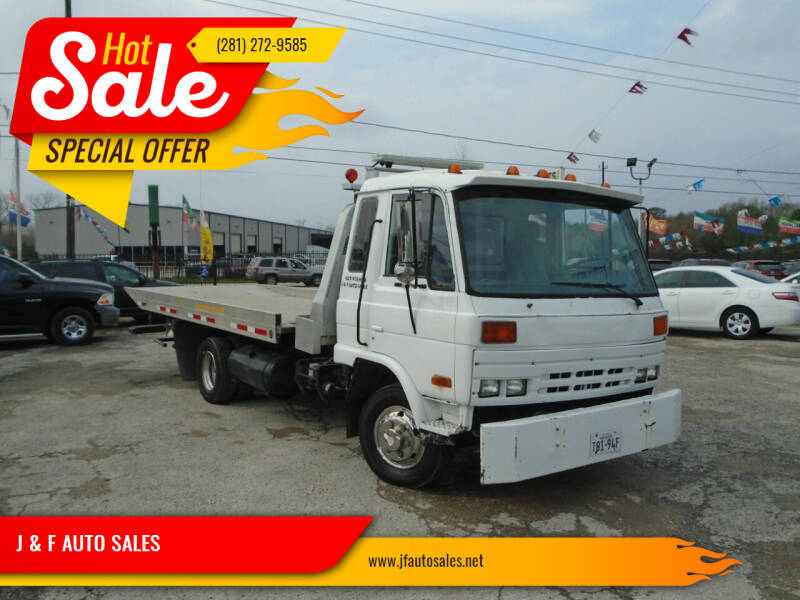 1992 UD Trucks UD1800 for sale at J & F AUTO SALES in Houston TX
