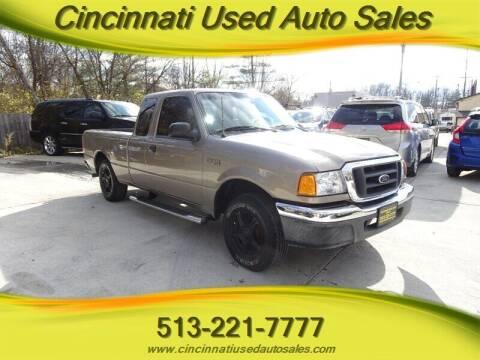 2004 Ford Ranger for sale at Cincinnati Used Auto Sales in Cincinnati OH