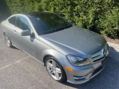2013 Mercedes-Benz C-Class for sale at Limitless Garage Inc. in Rockville MD