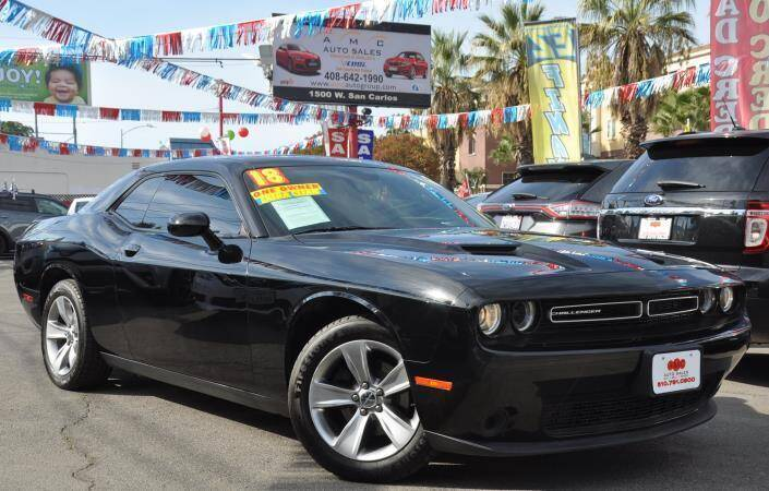 2018 Dodge Challenger for sale at AMC Auto Sales Inc in San Jose CA