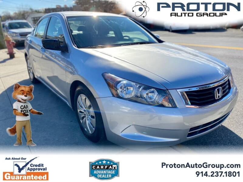 2009 Honda Accord for sale at Proton Auto Group in Yonkers NY