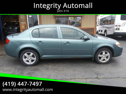 2009 Chevrolet Cobalt for sale at Integrity Automall in Tiffin OH