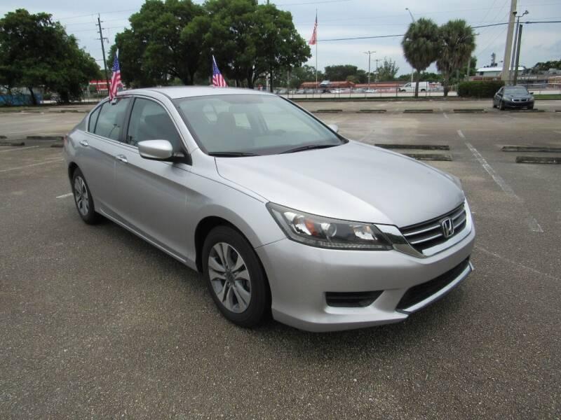2015 Honda Accord for sale at United Auto Center in Davie FL
