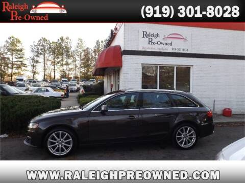 2011 Audi A4 for sale at Raleigh Pre-Owned in Raleigh NC