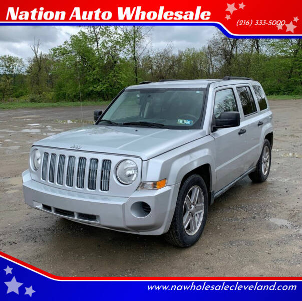 2008 Jeep Patriot for sale at Nation Auto Wholesale in Cleveland OH