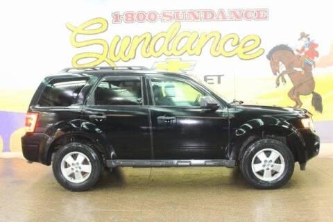 2012 Ford Escape for sale at Sundance Chevrolet in Grand Ledge MI