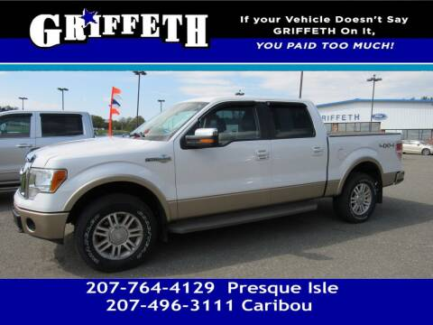 2012 Ford F-150 for sale at Griffeth Mitsubishi - Pre-owned in Caribou ME
