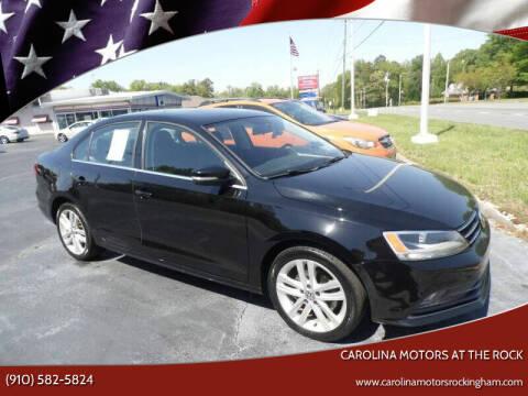 2015 Volkswagen Jetta for sale at Carolina Motors at the Rock in Rockingham NC
