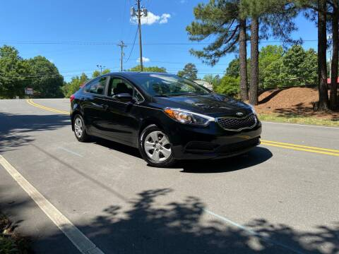 2016 Kia Forte for sale at THE AUTO FINDERS in Durham NC
