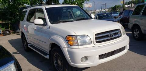 2003 Toyota Sequoia for sale at Lexington Auto Store in Lexington KY