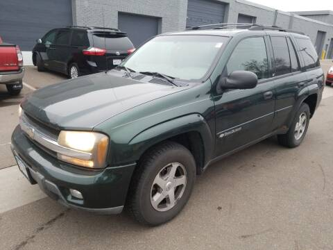 2003 Chevrolet TrailBlazer for sale at The Car Buying Center in St Louis Park MN