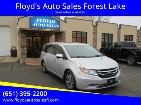 2014 Honda Odyssey for sale at Floyd's Auto Sales Forest Lake in Forest Lake MN