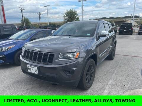 2014 Jeep Grand Cherokee for sale at Nissan of Boerne in Boerne TX
