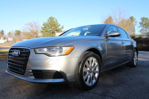 2013 Audi A6 for sale at Oak City Motors in Garner NC