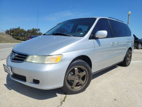 2002 Honda Odyssey for sale at L.A. Vice Motors in San Pedro CA