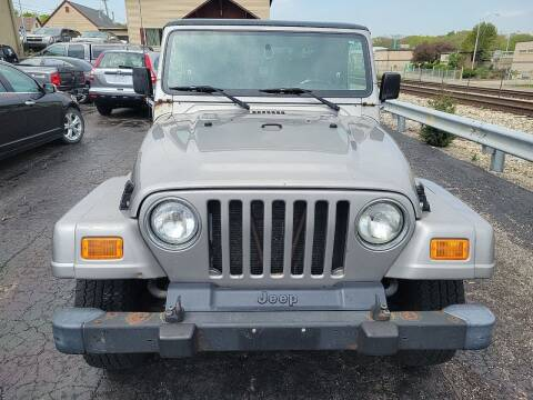 2001 Jeep Wrangler for sale at Discovery Auto Sales in New Lenox IL