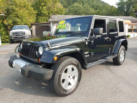 2008 Jeep Wrangler Unlimited for sale at Kerwin's Volunteer Motors in Bristol TN