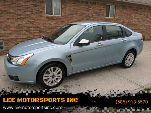 2008 Ford Focus for sale at LEE MOTORSPORTS INC in Mount Clemens MI