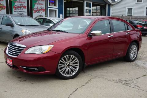 2011 Chrysler 200 for sale at Cass Auto Sales Inc in Joliet IL