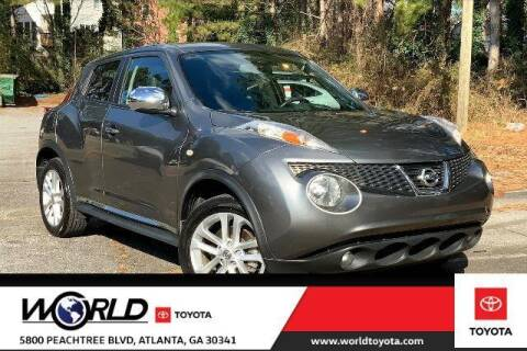 2012 Nissan JUKE for sale at CU Carfinders in Norcross GA