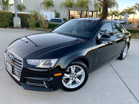 2018 Audi A4 for sale at Destination Motors in Temecula CA