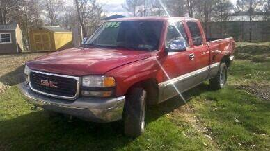 2001 GMC Sierra 1500 for sale at Seneca Motors, Inc. (Seneca PA) in Seneca PA