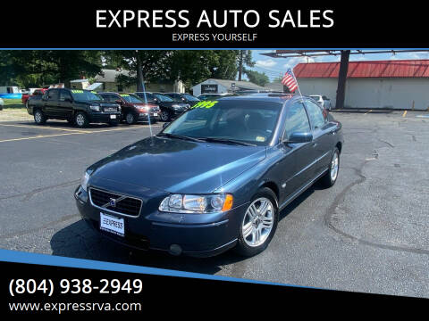 2005 Volvo S60 for sale at EXPRESS AUTO SALES in Midlothian VA